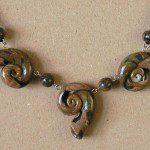 náhrdelník z kolekce ulita