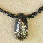 náhrdelník polymer s rokailem