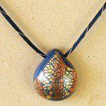 duhový náhrdelník polymer