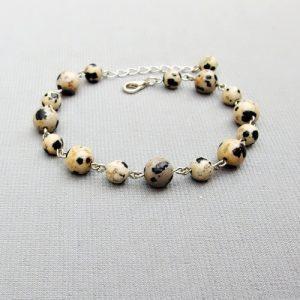naramek s jaspisem dalmatin
